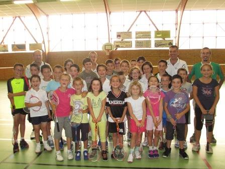 Groupe Jeunes Badminton Balazé saison 2014-2015
